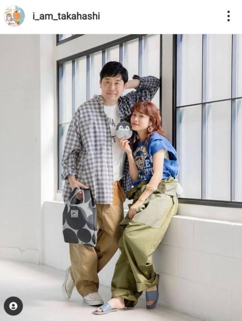 高橋愛、夫・あべこうじとの微笑み2SHOT公開「最高のコラボ」「癒されます」サムネイル画像!