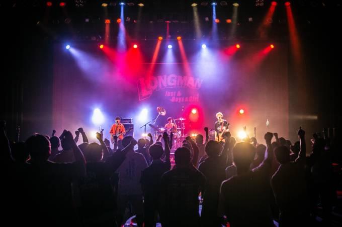 LONGMAN、地元愛媛凱旋ライブにファン熱狂