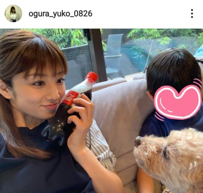 小倉優子、息子&愛犬との3SHOTに反響「みんな可愛い」「永遠のアイドルですね」サムネイル画像!