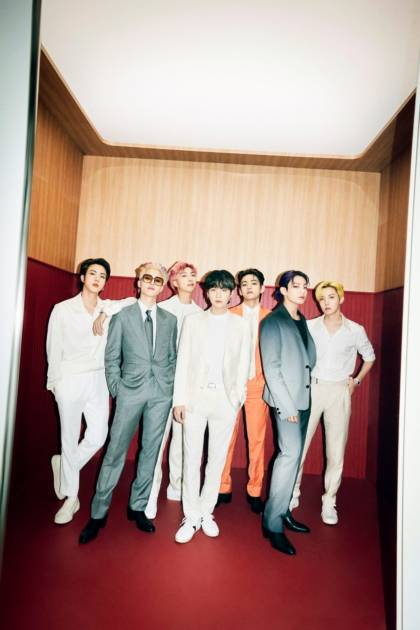 BTS、新曲「Butter」が英「オフィシャルシングルチャートトップ100」で3位サムネイル画像!