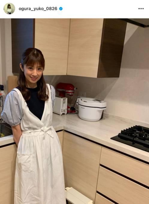 小倉優子、彩り豊かな朝食に「見習いたい」「ホテルの朝食みたい」の声