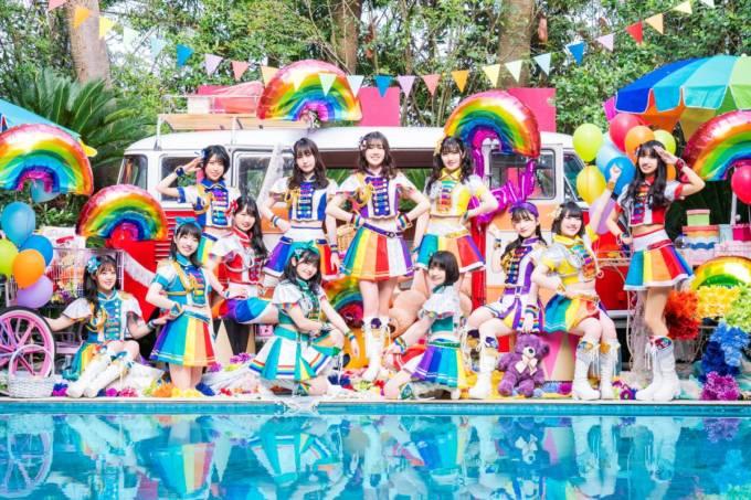 虹のコンキスタドール、Anniversary EP「RAINBOW SUMMER SHOWER」ジャケット写真・最新ビジュアルを一気に公開&「世界の中心で虹を叫んだサマー」ダンスバージョンMVも公開