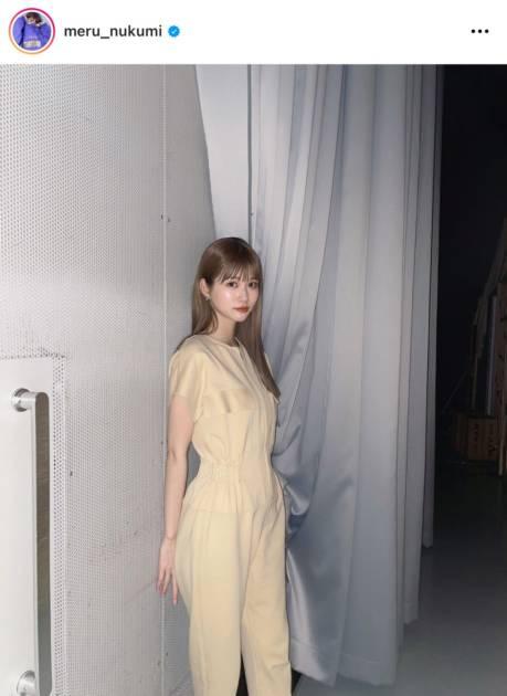 「ほっそい」めるる、美スタイル際立つオールインワンコーデに反響「スタイル良すぎ」サムネイル画像!