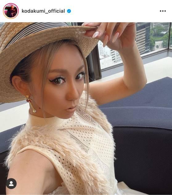 「ほっそ!」倖田來未、シースルーな夏コーデ&ブラックのタイトワンピ姿に反響「めちゃくちゃ綺麗」サムネイル画像!