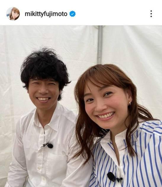 「理想の夫婦」藤本美貴、夫・庄司智春との仲良し2SHOTに反響「笑顔で幸せそう」「最高ですね」サムネイル画像!