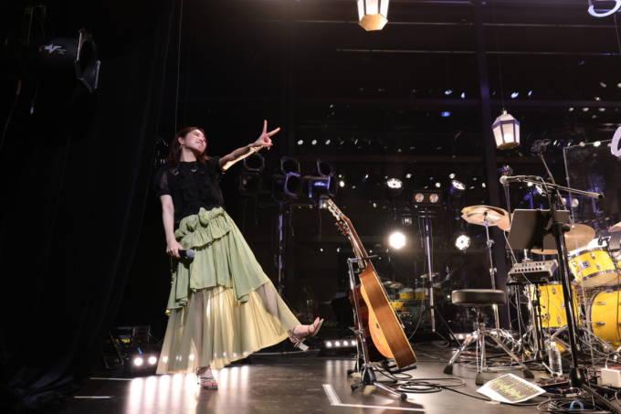 上野優華、1年5か月ぶりの有観客ライブ開催&10月から全国ツアー決定