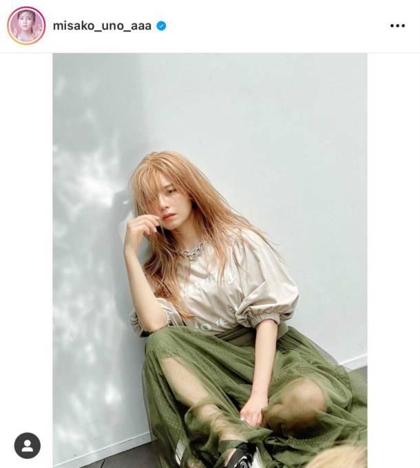 AAA宇野実彩子、アンニュイな雰囲気の下ろし髪SHOTに反響「最高にカッコイイ!」「透明感すごい」