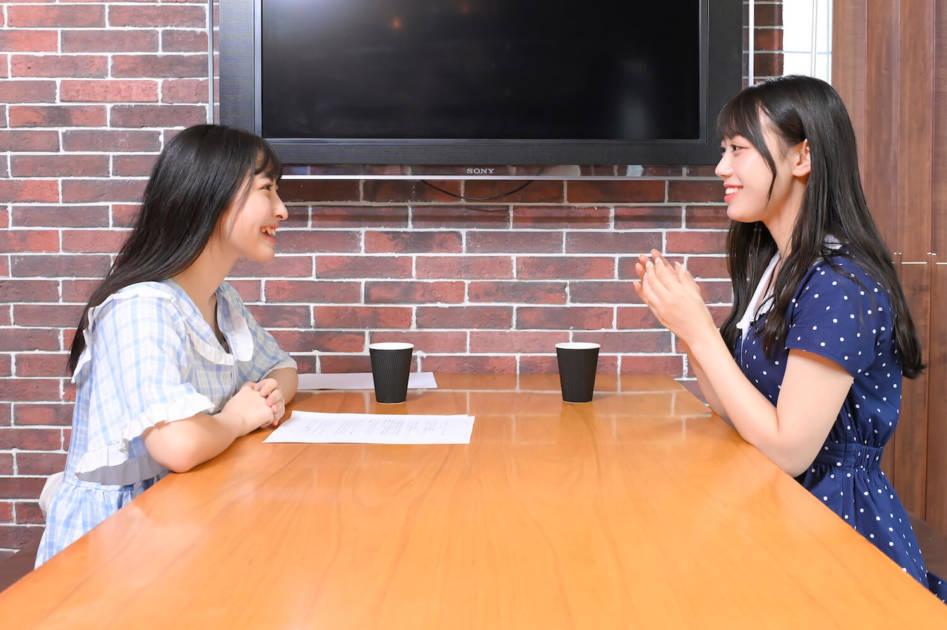 ナナランド・竹内月音(左)、西嶋菜々子(右)
