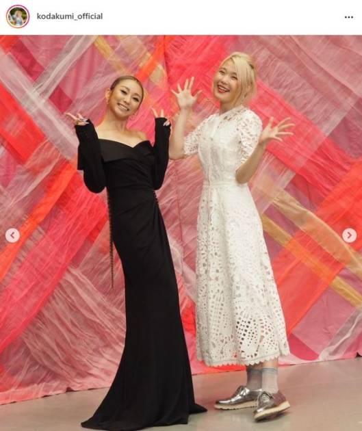 倖田來未、ハラミちゃんとのギャップSHOT?公開で「身長差にキュンです」「2人共素敵」の声サムネイル画像!