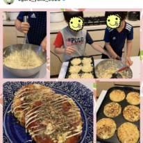 小倉優子、息子たちとのお好み焼き作りSHOT公開し反響「優しいママ」「食育もバッチリ」