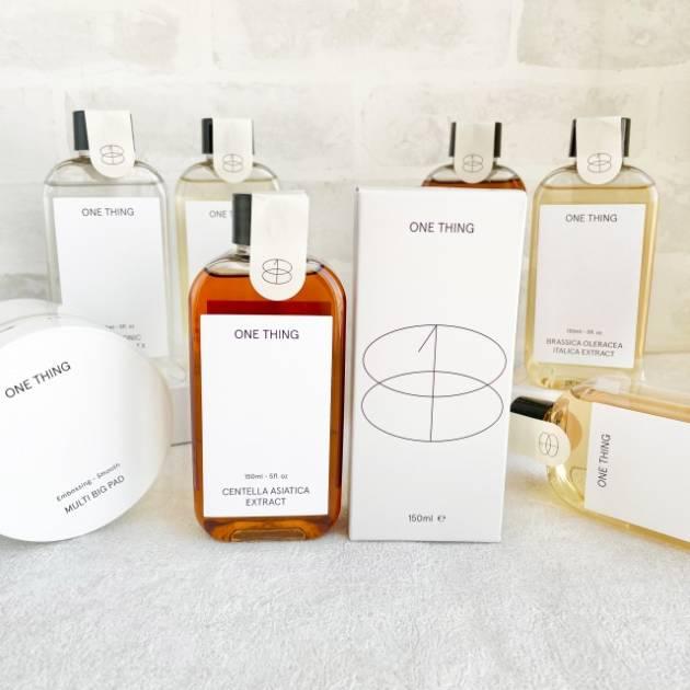 韓国スキンケア「ONE THING(ワンシング)」がPLAZAに上陸!10種の化粧水、PLAZA・MINiPLA先行販売をスタート」サムネイル画像!