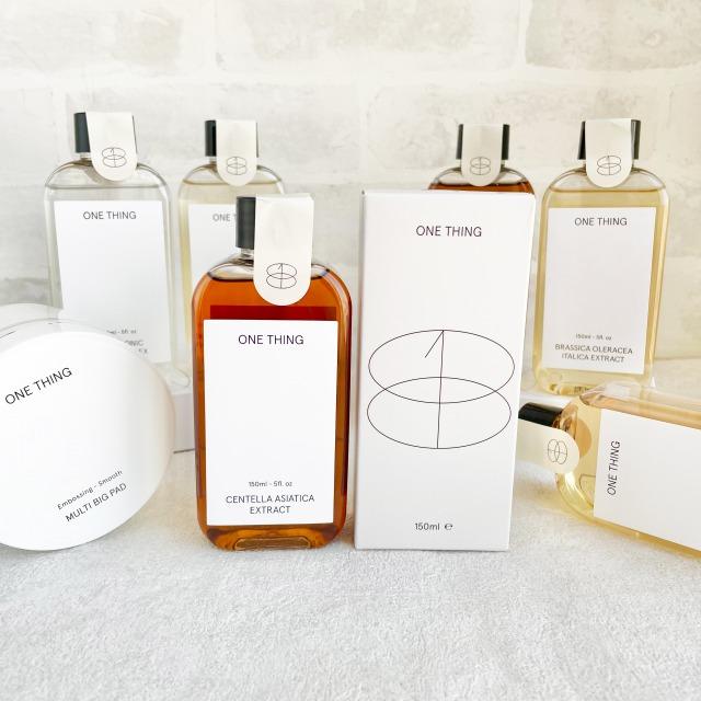 韓国スキンケア「ONE THING(ワンシング)」がPLAZAに上陸!10種の化粧水、PLAZA・MINiPLA先行販売をスタート」