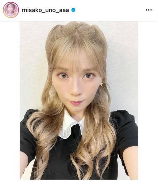 AAA宇野実彩子、BLACKPINK LISA風メイクSHOTに絶賛の声「推しと推し」「可愛いの渋滞です」サムネイル画像!