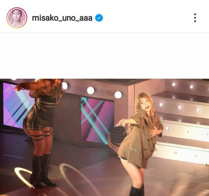 AAA宇野実彩子、美脚&メリハリボディ際立つステージSHOTに絶賛の声「大優勝」「いつまでも美人」