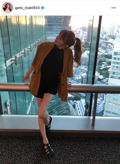 「足細っ!!」後藤真希、ショーパン美脚SHOTに反響「スタイル良すぎ」サムネイル画像!