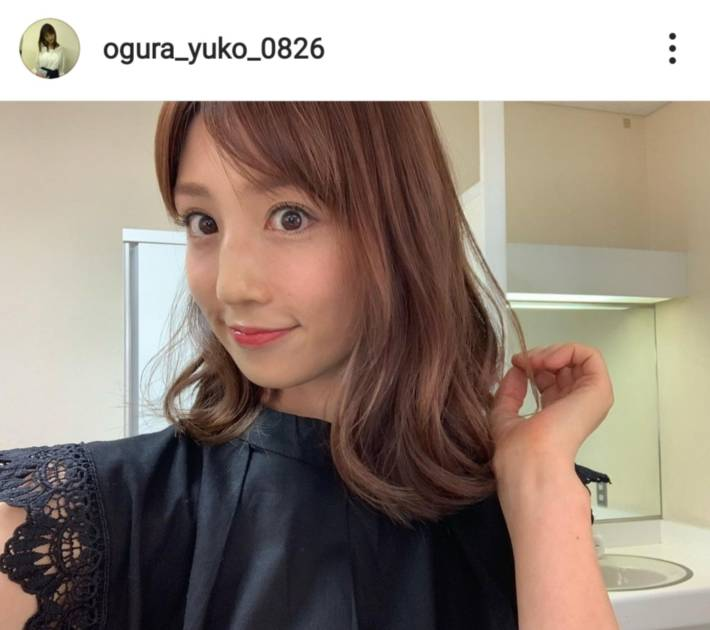 """小倉優子、ふんわりヘアSHOT&""""楽ちん""""朝ごはん披露「可愛いママさん」「綺麗過ぎる」サムネイル画像!"""