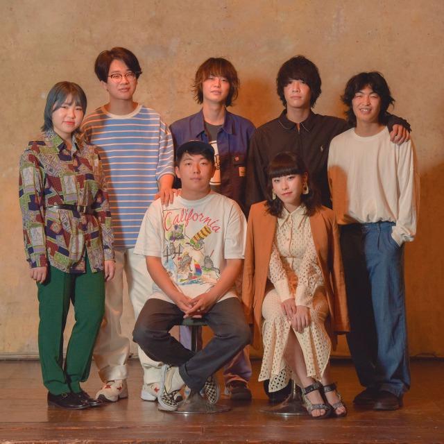 京都発7人組バンド・WANG GUNG BAND、1stフルアルバム「WANG GUNG BAND」リリース決定