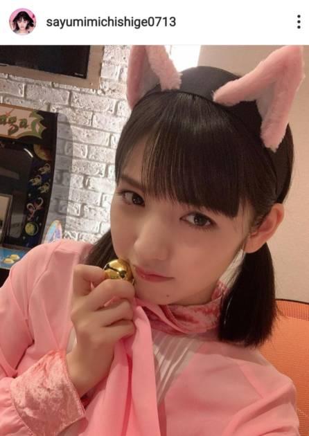 道重さゆみ、キュートな猫耳SHOTにファン悶絶「ほんと似合いすぎる」「何度見ても可愛い!」サムネイル画像!