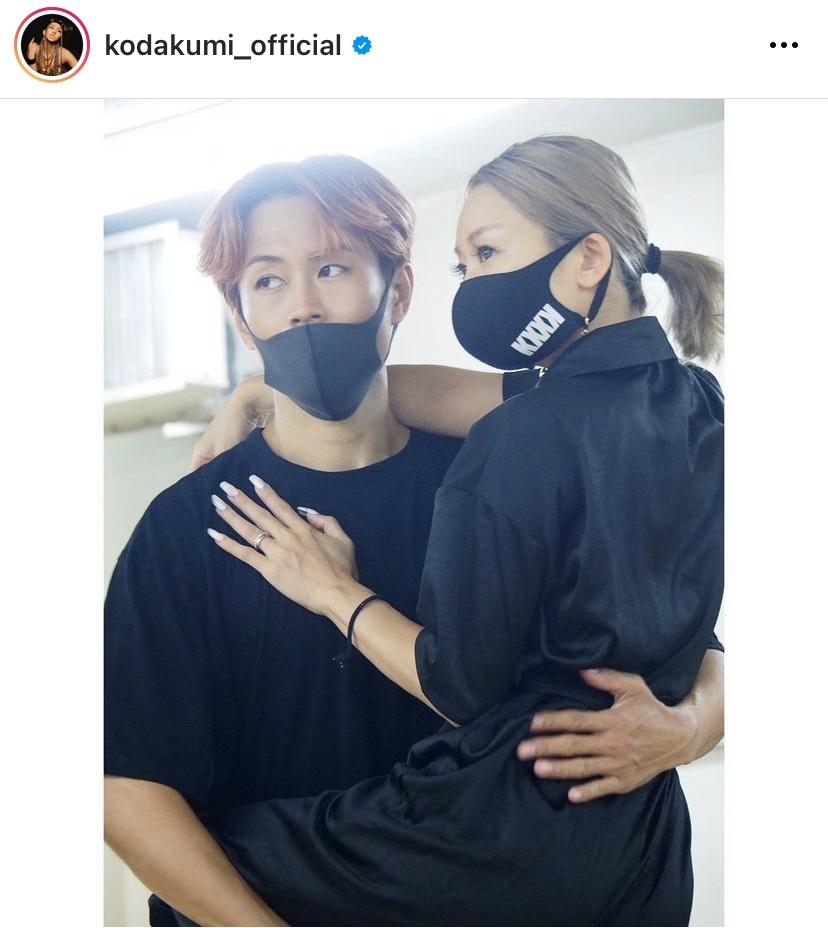 「顔ちっさすぎ」倖田來未、薄メイクのリハーサルSHOTに反響「ナチュラルめっちゃ可愛い」