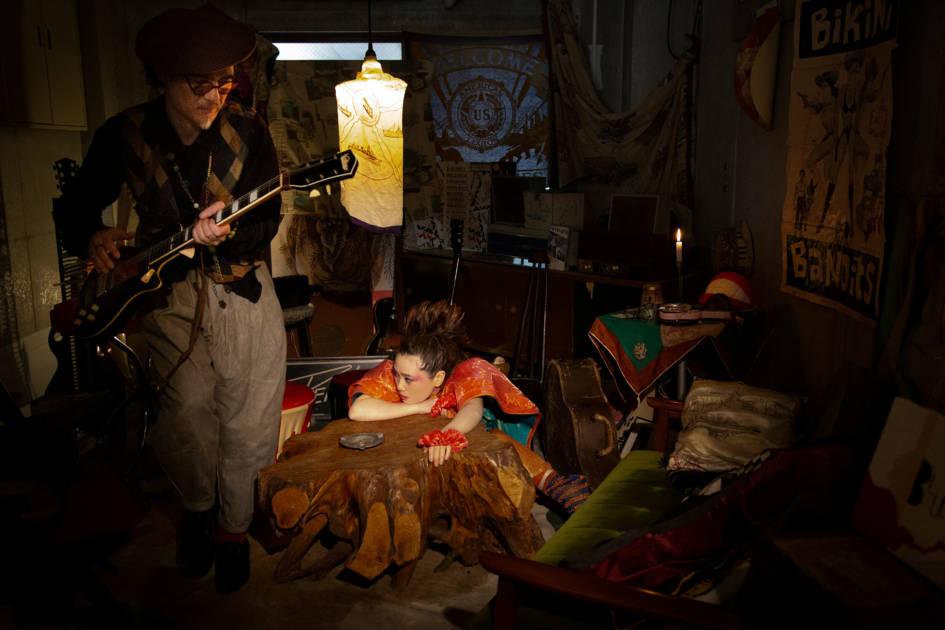 EGO-WRAPPIN'、オダギリジョー脚本・演出のドラマ主題歌の新曲「The Hunter」の9月10日先行配信スタートサムネイル画像!