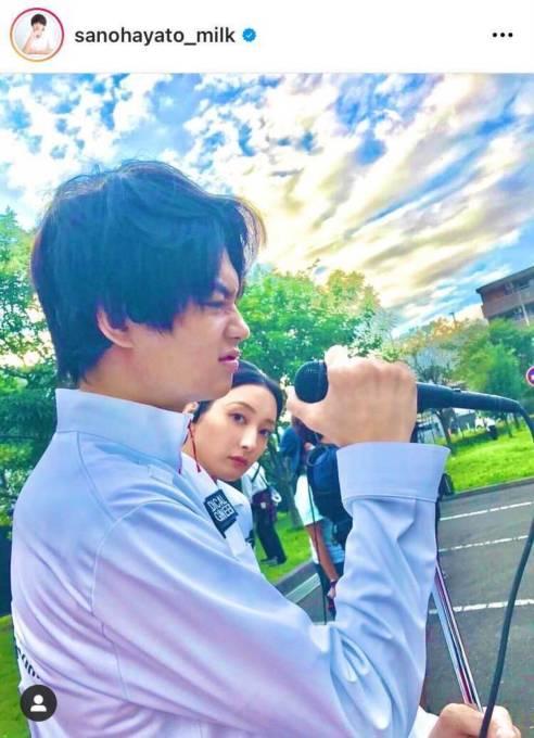 佐野勇斗、『TOKYO MER』菜々緒のひょっこりSHOTに反響「尊い」「なんかホッコリする」