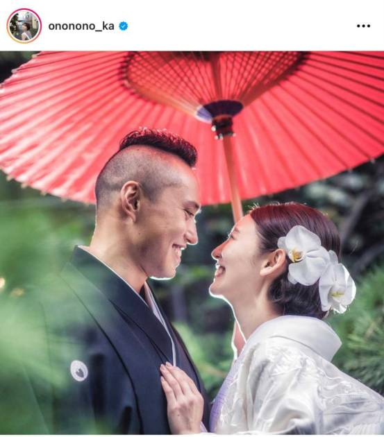 第1子妊娠中のおのののか、結婚1周年を報告&夫婦のラブラブSHOT公開し「憧れ夫婦」「末永くお幸せに」サムネイル画像!