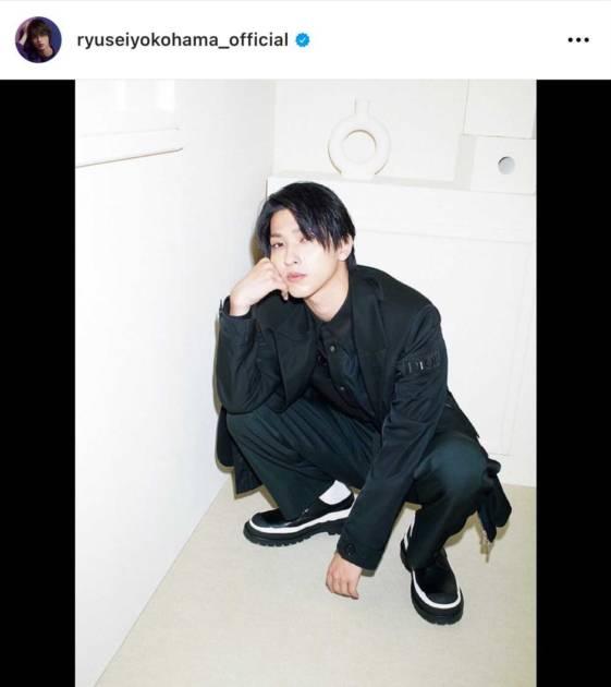 「ビジュ爆発」横浜流星、クールな表情を見せた上品Diorコーデにファン悶絶「イケメンすぎる!」サムネイル画像!