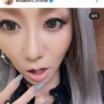 倖田來未、美スタイルのブラックコーデに反響「安定の激カワ」「綺麗でメチャ格好いいね」
