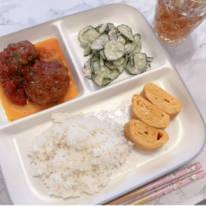 「まぁ、、いいのいいの」辻希美、夕食の残りで作ったランチプレートを公開「昨夜のハンバーグが…」