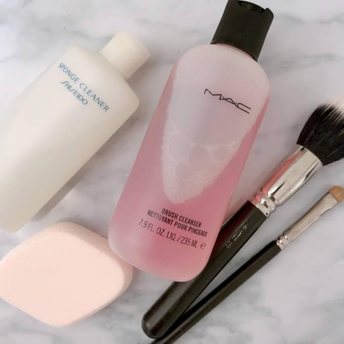 ツールを洗って肌トラブルを防ごう!基本の洗い方HOW TO